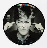 DAVID BOWIE Golden Years Vinyl Record 7 Inch RCA 1982 Picture Disc